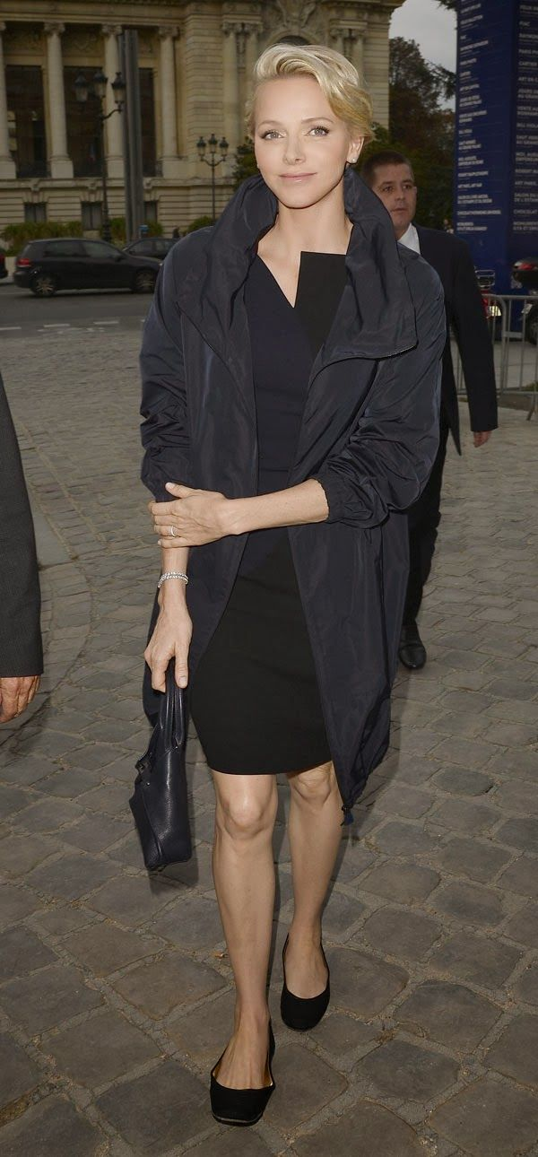 MYROYALS &HOLLYWOOD FASHİON: Princess Charlene in Paris