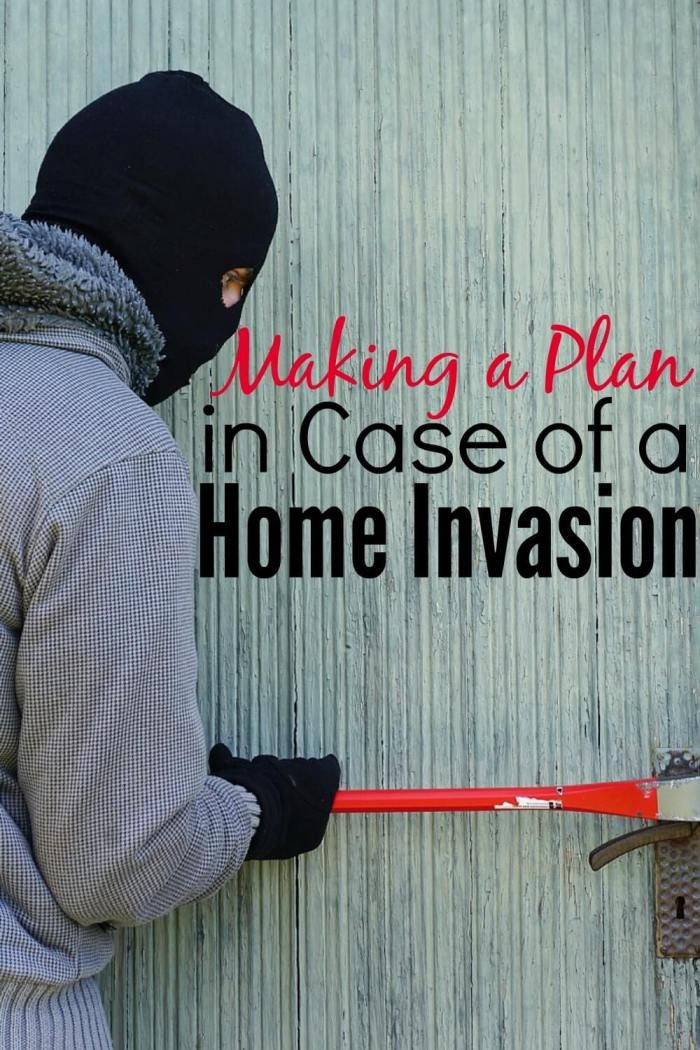 Are you prepared in case someone breaks into your house while your family is home? Do you have a plan for what to do if there is a burglar? A little preparation ahead of time could make all the difference in the world—this post guides you through making a flexible plan for your family just in case the worst should happen.