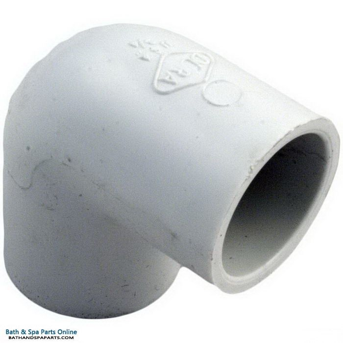 "Lasco SCH40 90 Degree PVC Elbow [3/4"" Slip x 3/4"" Slip] (406-007)"