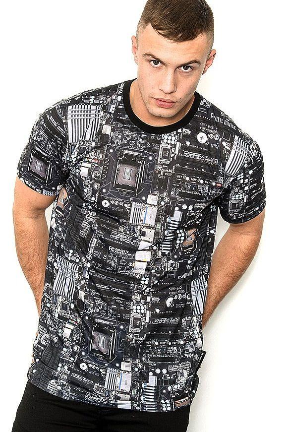 Criminal Damage Circuit Sublimation T-Shirt - that should be mine!