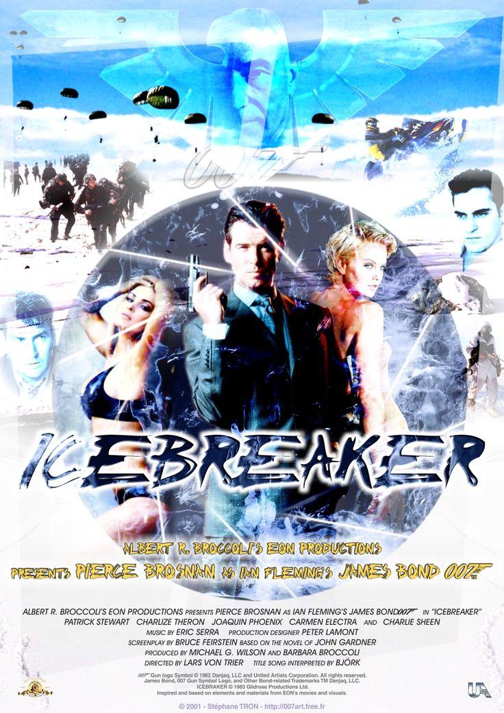 John Gardner - 'Icebreaker' - Poster 1