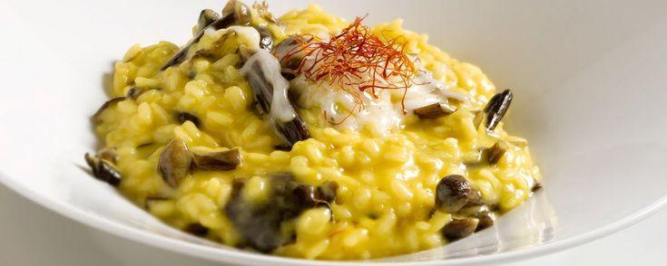 Hotel Terme - Cocofungo: Mantecato di riso giallo ai funghi chiodini