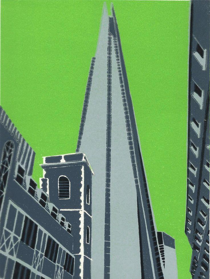 Jennie Ing | The Shard | #print | #art | #london