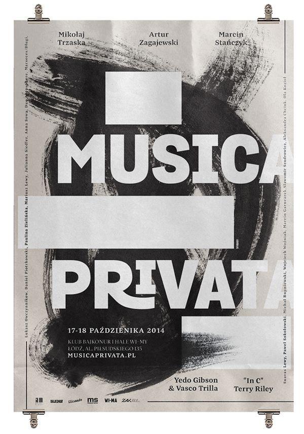 Musica Privata II on Behance