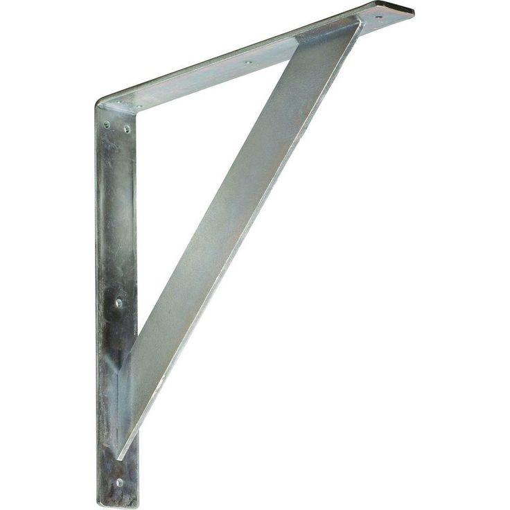 Steel Unfinished Metal Traditional Bracket