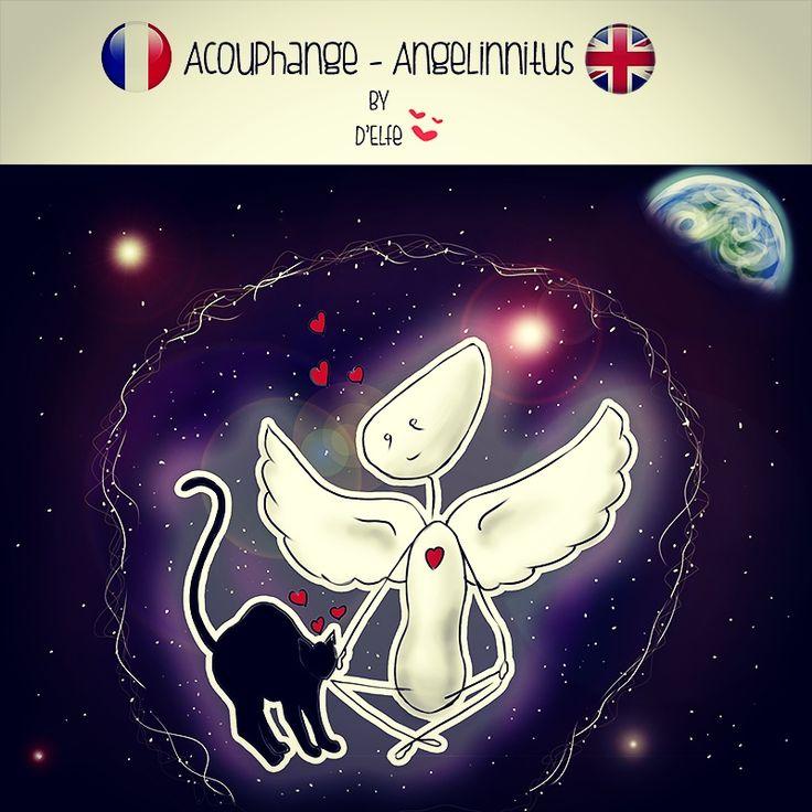 Coucou mes Anges!  Que j'aimerais pouvoir observer notre Terre de cette façon ! ;-) FR: Acouphange du jour EN: Angelinnitus of the day  D'Elfe <3