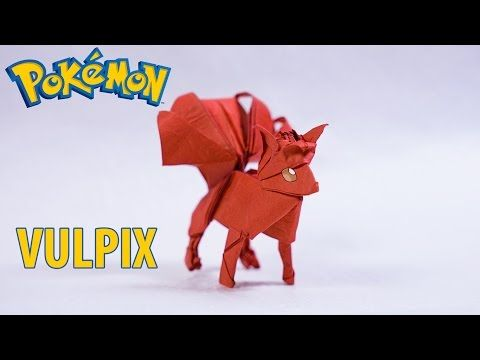 POKEMON GO - Origami Vulpix 2.0 tutorial (Henry Phạm) - YouTube