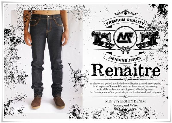 "behind the ""RENAITRE"" @mightyeightyID #MEspring2014 #DENIM #JEANS #INDIGO  #BANDUNG"