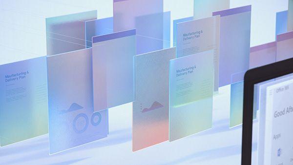 Microsoft Office 365 On Behance Data Visualization Design Fluent Design Web Design