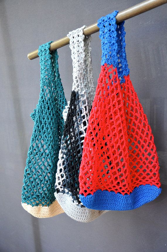 Crochet Straw Beach Bag Tutorial And Pattern : 17 Best images about bags & baskets on Pinterest Straw ...