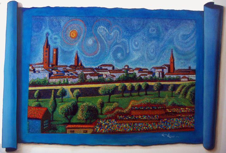 oniric landscape Forlì by Alessio Atzeni