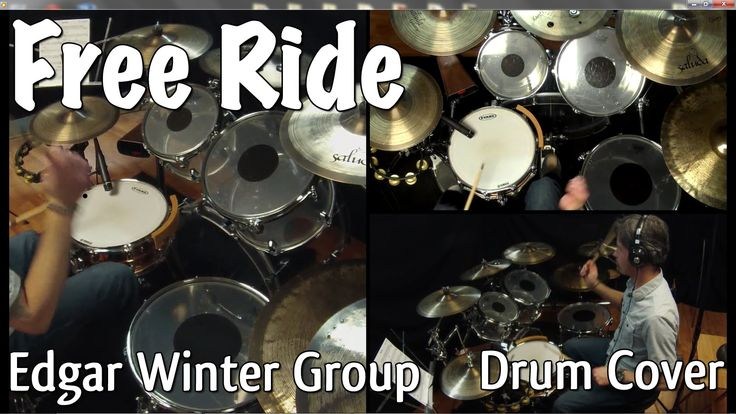 Edgar Winter Group - Free Ride Drum Cover