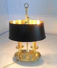 Table Lamp Oval, classic model with new look