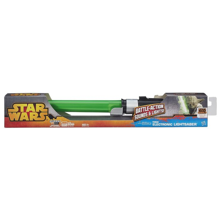 Star Wars Yoda Electronic Lightsaber Toy - $41.89