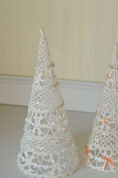 Alberi di Natale Vintage Vintage Crochet Natale di PageScrappers