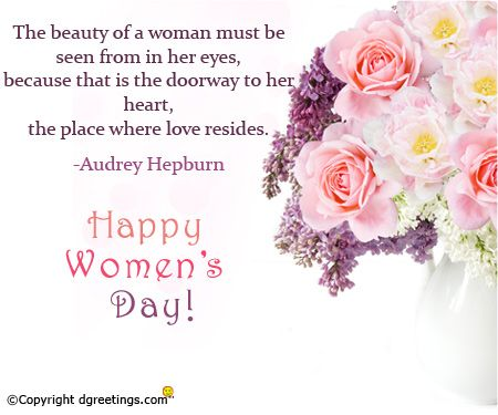 Women's Day Quotes Pleasing 24 Best Women's Day Card Images On Pinterest  Distaff Day Women . Inspiration Design