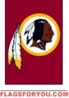 "Redskins Mini Flag 15"" x 10 1/2"""