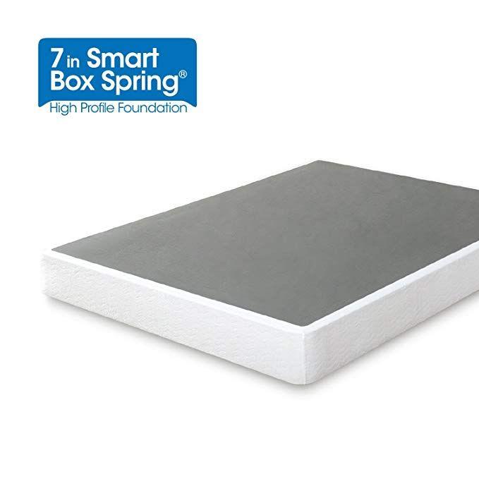 Zinus 7 Inch Smart Box Spring Mattress Foundation Strong Steel