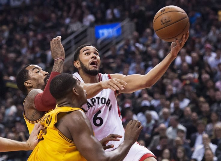 Tristan Thompson and Cory Joseph have really suspended their brotherly friendship for the Eastern Conference Finals - http://thisissnews.com/tristan-thompson-and-cory-joseph-have-really-suspended-their-brotherly-friendship-for-the-eastern-conference-finals/