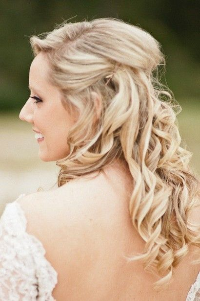 hair down for wedding styles half up half wedding hairstyles4 wedding 3504 | 91666e20d3bb2a68ccbfbbebc639cc43