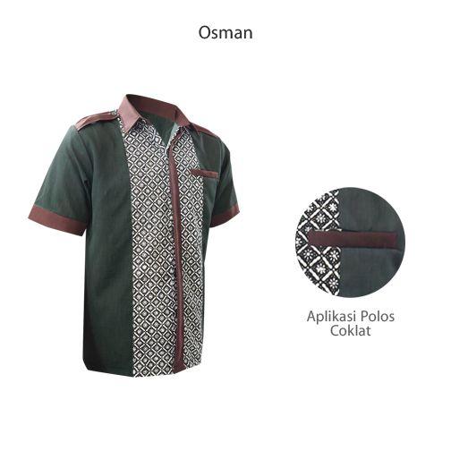 Osman HM-2312 Ready Stock size M  #kemejabatikmedogh  http://medogh.com/baju-batik-pria/kemeja-batik-pria