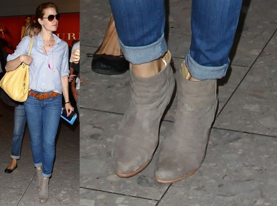 Gray ankle boots - The 42 Best Images About Purses On Pinterest