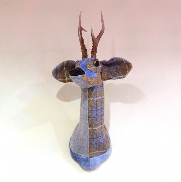 April Barrie, Lennie, Textile Taxidermy | Scottish Contemporary Art