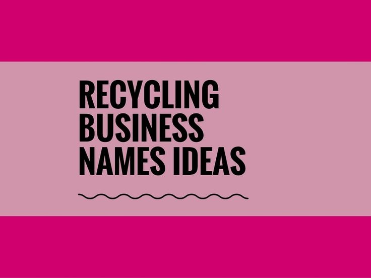 While your business may be extremely professional and important, choosing a creative company name can attract more attention.A Creative name is the most important thing of marketing. Check here creative, best Recycling Company names ideas for your inspiration.