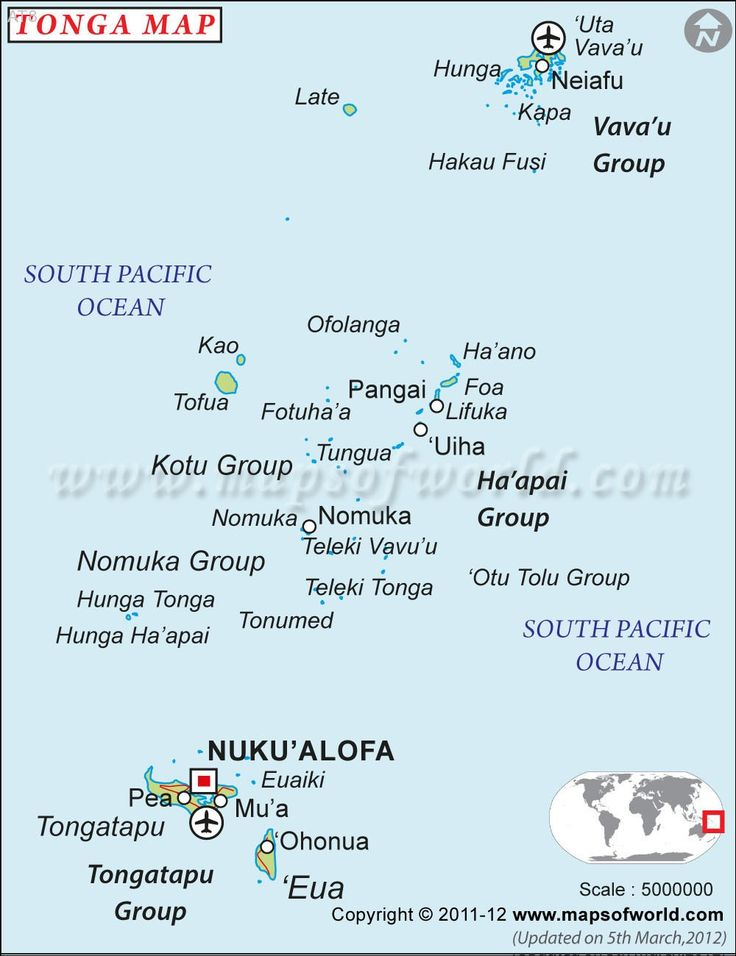 Best KIngdom Of Tonga Tonga Islands Images On Pinterest - Tonga map