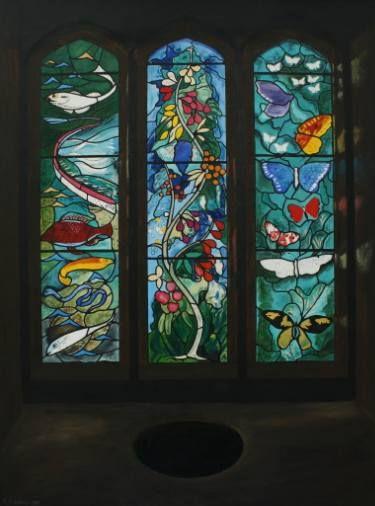 Sir John Betjeman Memorial Window