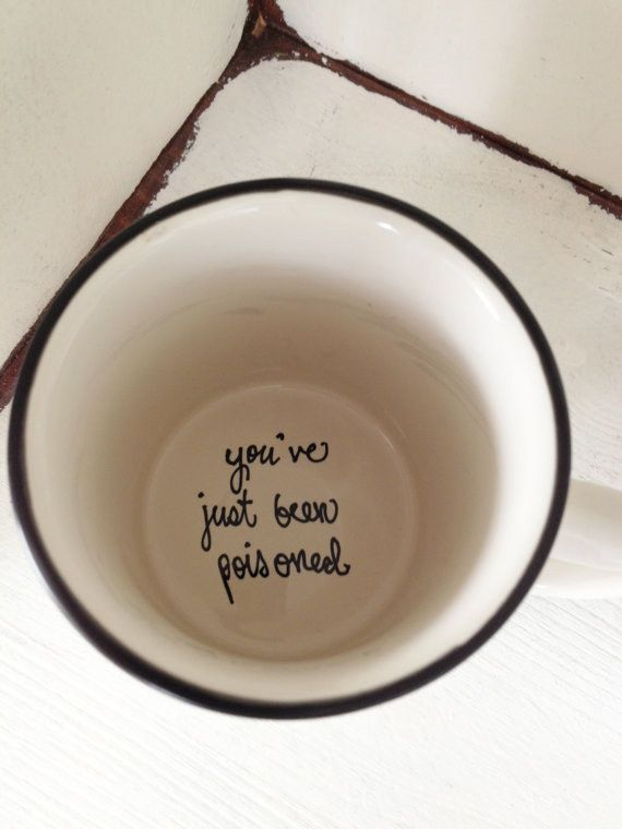 Oh, and do you know a sociopath? This is the present for them. | 23 Sassy Mugs That Make Excellent Stocking Stuffers. That'd be do-able with a sharpie and a mug. Then give it to the psychotic younger brother