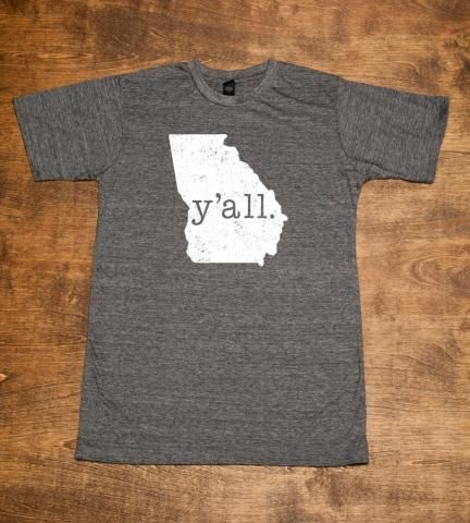 Georgia Y'all Shirt | Hillcrest Waterbugs | Bourbon & Boots