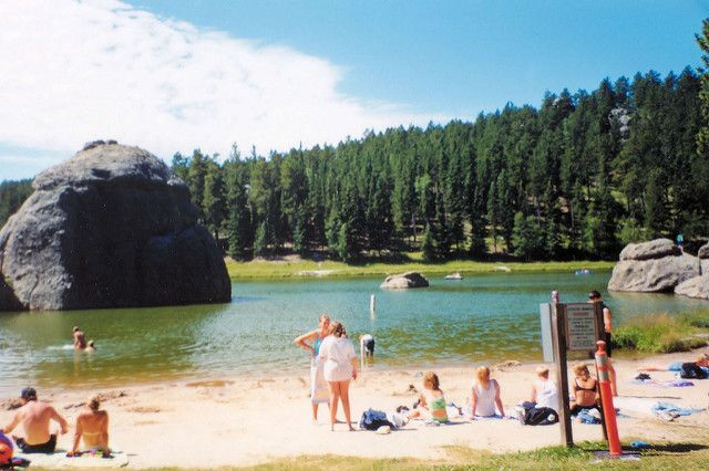 1. Sylvan Lake Beach near Custer