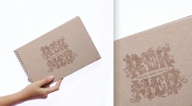 Rekam Medis UGM's Memorabilia-book. Hotprint at the cover, use spiral finishing and artpaper