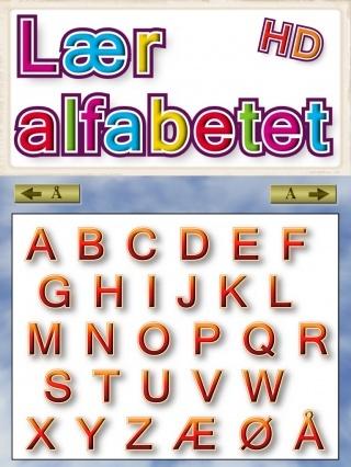 (2012-07) Alfabetet på dansk ~ 12 kr.