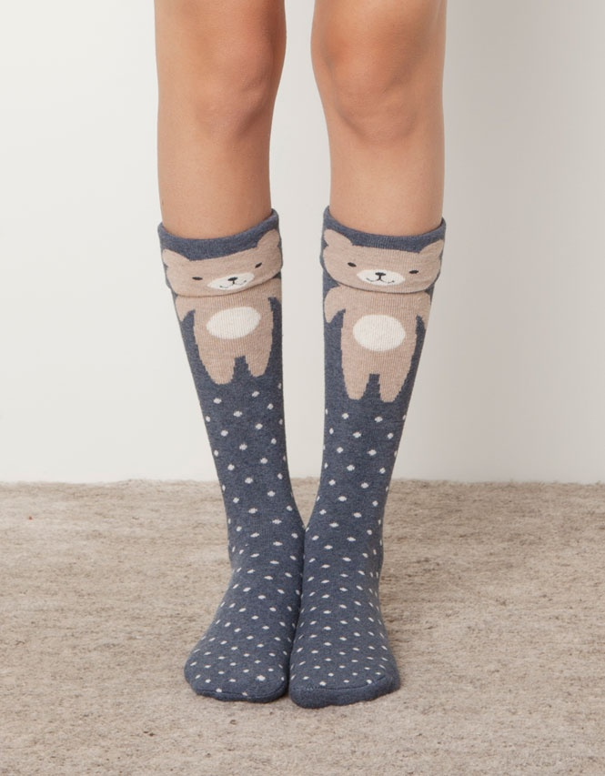 bear socks #Kawaii