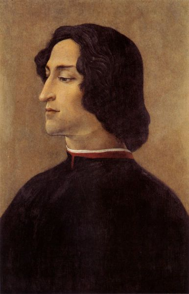 Giuliano de Medici 1453-1478 The illegitimate son of Cosimo de Medici, the most important patron of the arts during the Renaissance. Giulian...