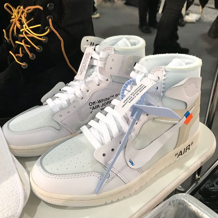 "26.7k Likes, 494 Comments - Highsnobiety Sneakers #HSKicks (@highsnobietysneakers) on Instagram: ""It's official: Air Jordan 1 x @off____white 2.0. The latest all-white iteration has been spotted at…"""