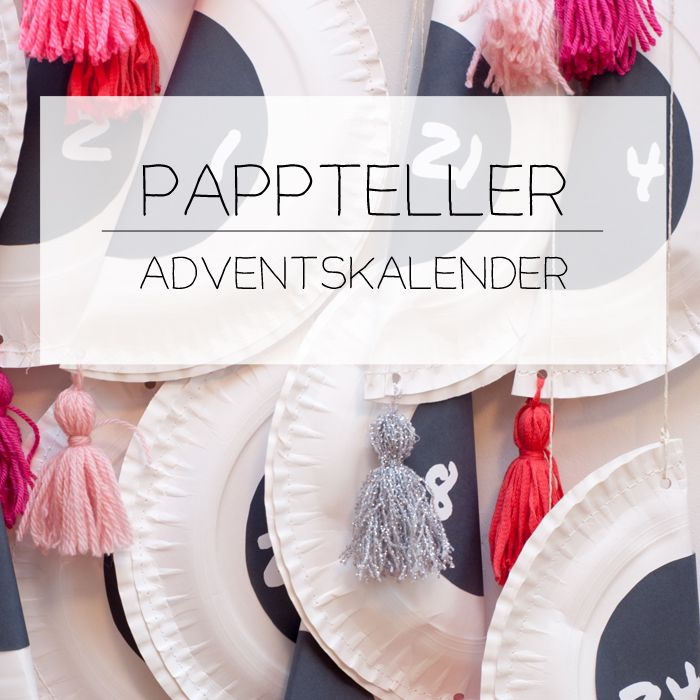 Ein DIY Adventskalender aus weissen Papptellern. Schnell gemacht und sehr dekorativ. Mit Zahlen zum kostenlosen Download. Ein DIY-Tutorial von johannarundel.de