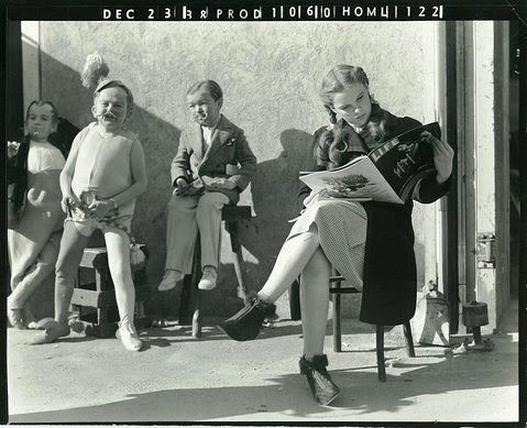 ❥ BEHIND THE SCENES OF THE WIZARD OF OZ, 1939