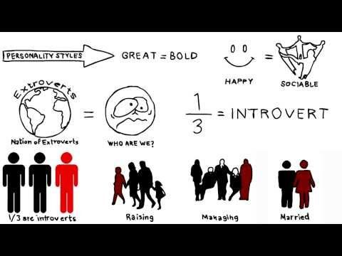 Approximately one third if not half of the population are introverts. By their nature. Giving credit to them means taking away the social pressure from them to have to pretend that they are extroverts.