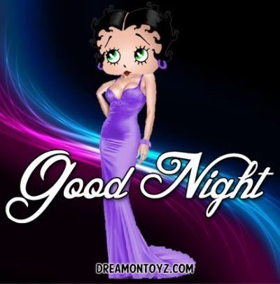 Betty Boop Good Night Quotes.