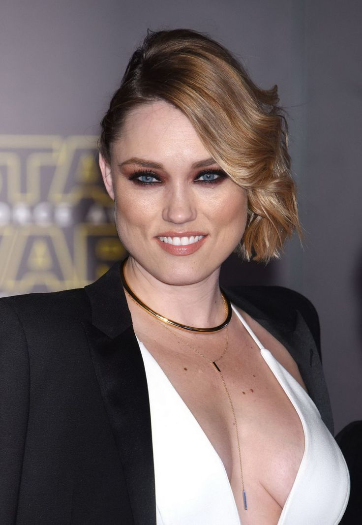 Clare Grant attends the Star Wars: The Force Awakens Premiere…