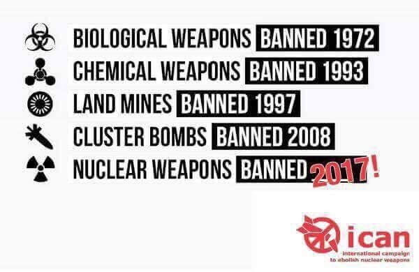 """ICAN on Twitter: """"We did it! #nuclearban https://t.co/6EDNYXcLw3"""""""