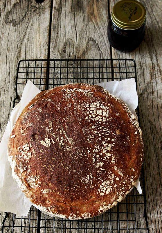 Milk and Honey: Sourdough Rye // pain au levain de sègle