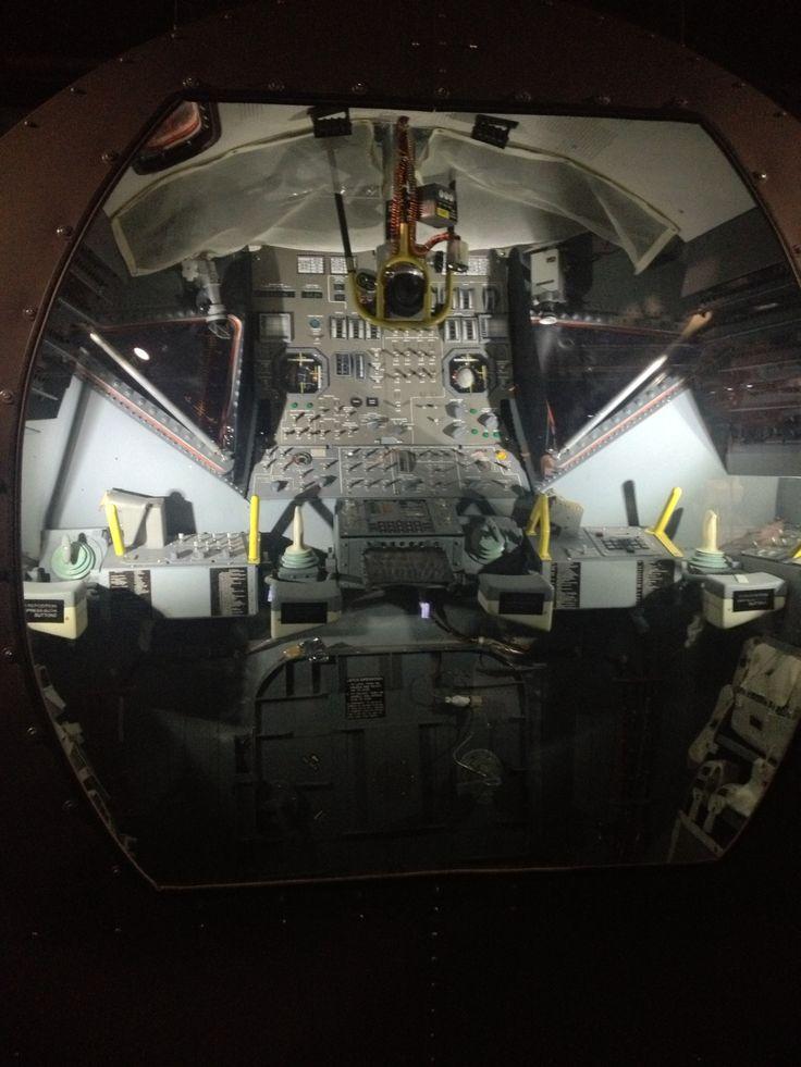 Cockpit lunar module
