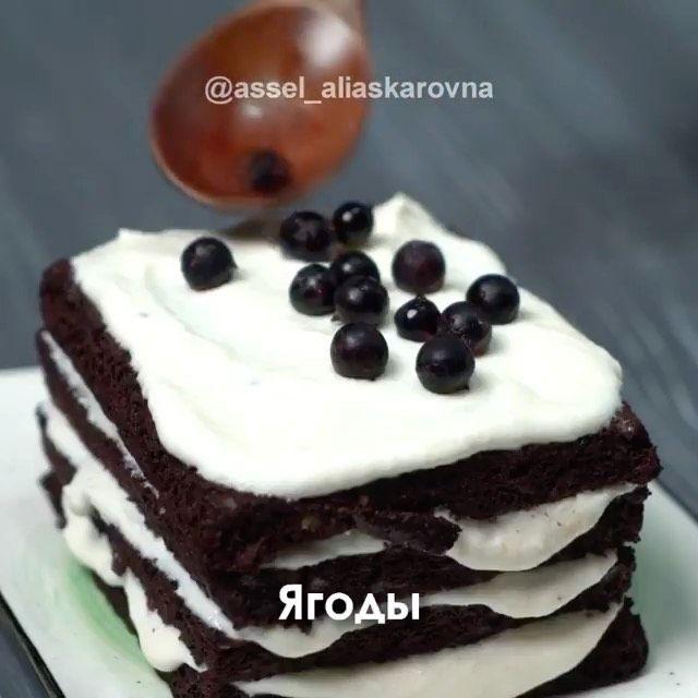 Legkie Recepty Na Kazhdyj Den On Instagram Tort Za 4 Minuty Nabor Sponsorov Na Moj 2 Oj Giv Po Ssylke Vatsap V Shapke Moego Profilya A Food Cake Desserts