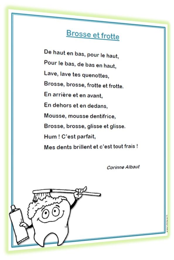 Recueil de poèmes sur les dents