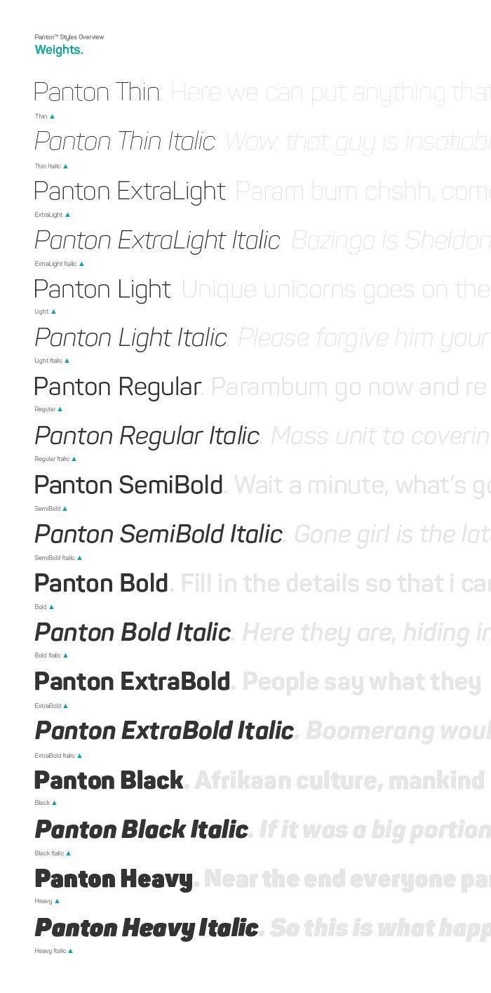 Undefined Free Font Pantone Fonts