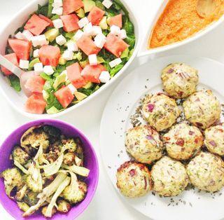 Efterårsmad: Kyllingefrikadeller med squash og nødder